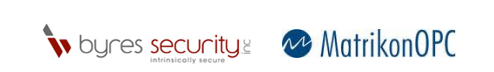 Byres Security and Matrikon logo's