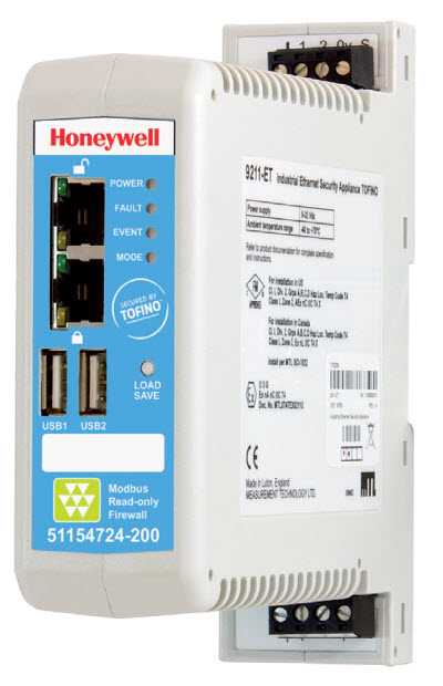 Honeywell Modbus Read Only Firewall